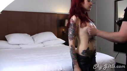 Amateur Redhead Banged In Hotel Room - scene 1