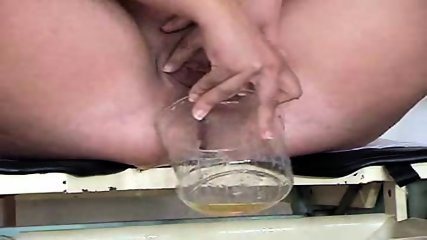 Blonde gets examined on Gyno-Chair - scene 3