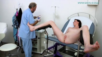 Doctor Exams Her Vagina