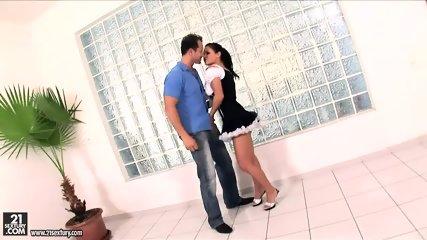 Kinky Maid Takes Dicks - scene 6