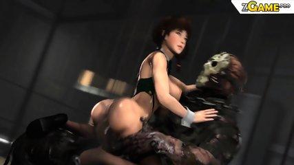 3D Big Ass Monica by Monster Santhiago