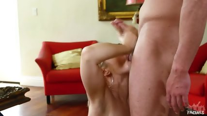 Jizz On Sarah Vandella's Face - scene 12