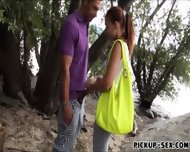 Real Amateur Minnie Manga Banged Under The Tree For Cash - scene 3