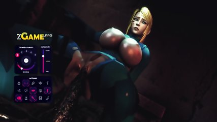 Lulu fucked hard in 3D monster game porn
