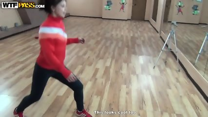 Dance Lesson Turns Into Sex - scene 1