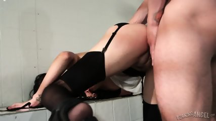 Vulgar Anal Sex With Brunette Whore - scene 6
