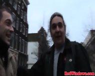 Real Amsterdam Hooker Handling Cum
