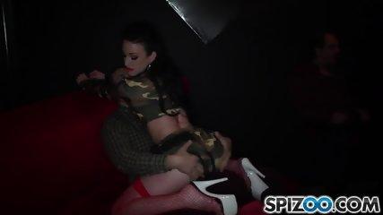 Stripper Serves Group Of Guys - scene 2