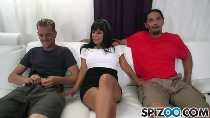 Mature Latina Takes Two Dicks - scene 2