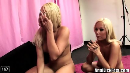 Blondes Like Taste Of Cum From Ass - scene 3