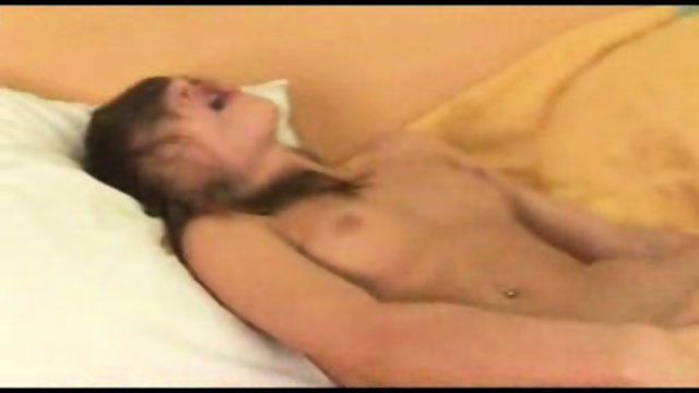 Masturbating Girl in Bed