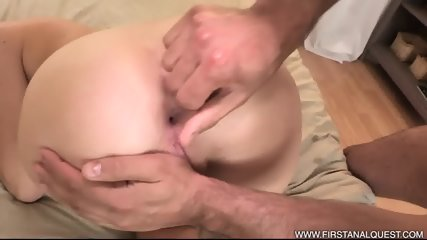 Anal Creampie After Rough Sex - scene 4