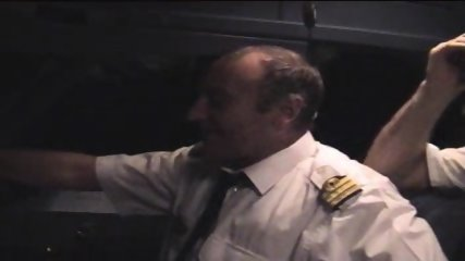 Cockpit Striptease - scene 6