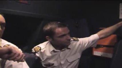 Cockpit Striptease - scene 7