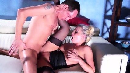 Cum On Big Ass After Sex On Sofa - scene 10