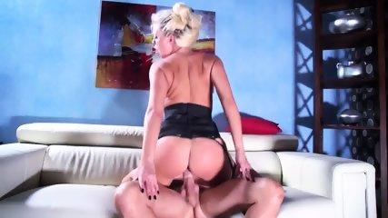 Cum On Big Ass After Sex On Sofa - scene 4