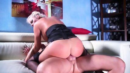 Cum On Big Ass After Sex On Sofa - scene 5