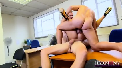 Gang Bang In The Office - scene 8