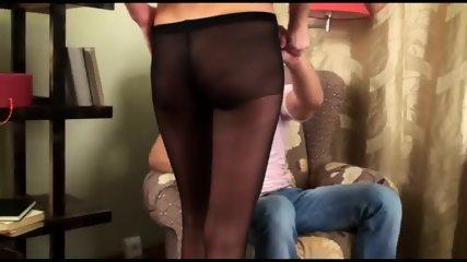 Cum On Torn Pantyhose - scene 2