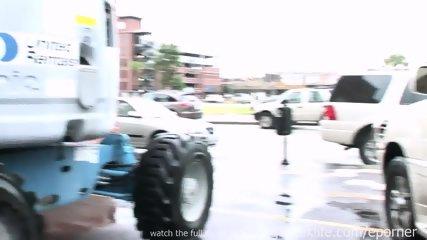 Girl Flashes Around Town - scene 6