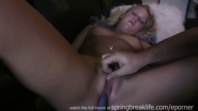 Girl Gets Fucked With A Dildo