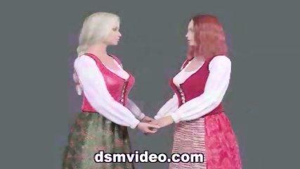 Lesbian Kisses Clip - scene 1