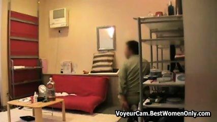 Japanese Hairy Wife Nude Seduces Repairman Spy 2