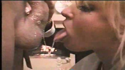 Blond Pornstar giving Blowjob - scene 9