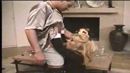 Blond Pornstar giving Blowjob - scene 1