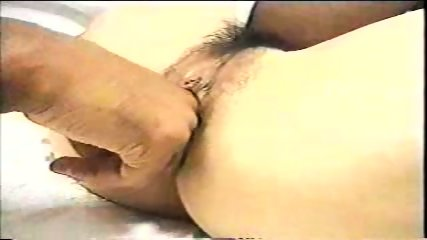 Asian chick and 2 black dudes - scene 3