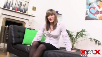 Naked Blonde Stimulated With Toys - scene 1