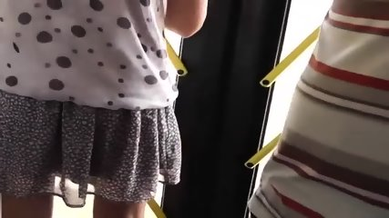 Spying On A Hot Girl At The Bus - scene 8