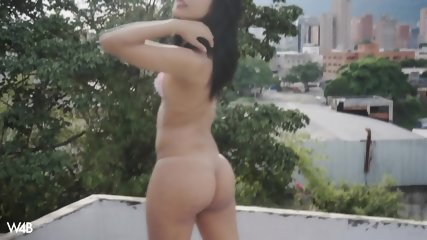 Naked Babe On The Roof - scene 8