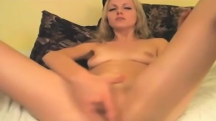 Blonde Amazing Girl Masturbates With All Her Toys - scene 2