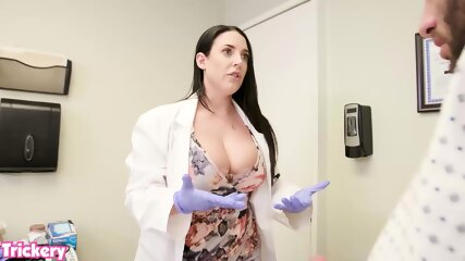 ANGELA WHITE USES HER BIG TITS AND TIGHT PUSSY TO HELP A PATIENT || Full video: http://ellevolaw.com/1JJZ