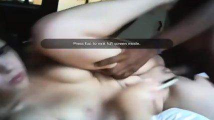 White Babe Gets Banged Hard By Black Man - scene 4