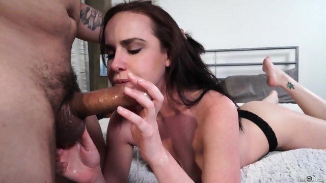 Hard Cock In Her Throat
