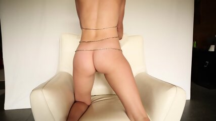 Lexi Teasing Her Asshole With Fox Tail Toy