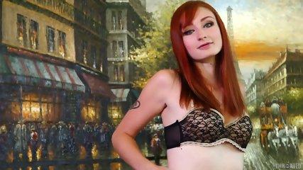 Lovely Redhead Girl Fucked Hard In Her Throat - scene 2