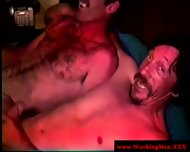 Hairy Dirty Redneck Giving Blowjob