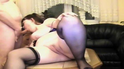 Fat Wife Having Sex On Table - scene 11