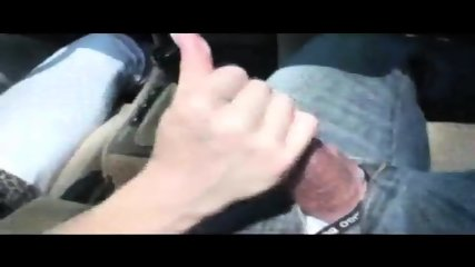 A Babe Drives And Jacks Off A Guy - scene 10