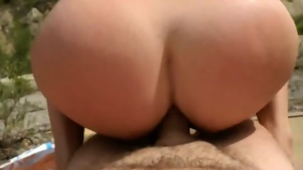 Fucking And Anal Sex From Behind In Nature - scene 9
