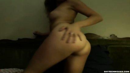 Blonde Selfshot Teencouple Homevideo - scene 1