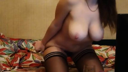 Big Boobed Woman Using Her All Toys - scene 1