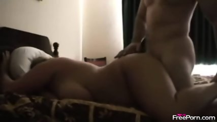 Chubby Wife Gets Rammed On Bed - scene 1
