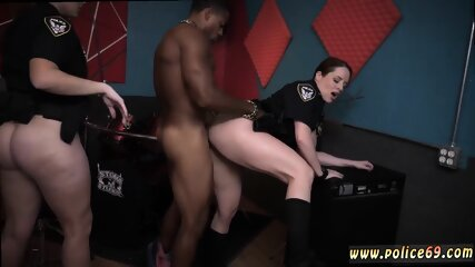 All natural hairy milf Raw flick grasps police poking a deadbeat dad.