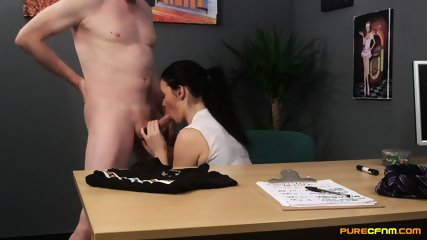 Tasha Holz As Blowjob Secretary - scene 11