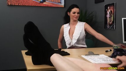 Tasha Holz As Blowjob Secretary - scene 12