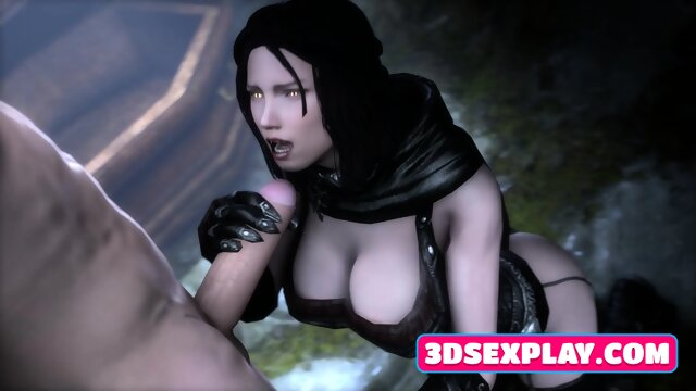 Video Games Characters with Huge Juicy Butt Wild Fucked in Every Hole